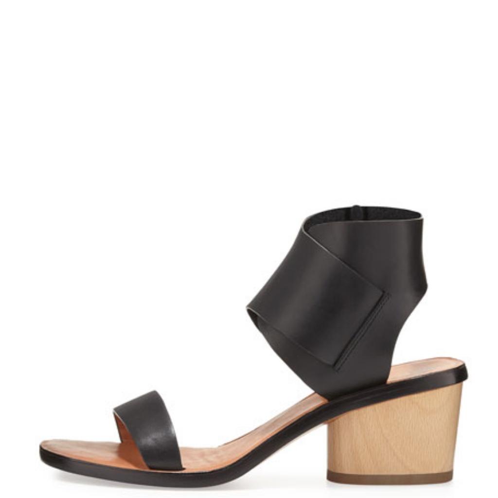 10 Crosby Derek Lam Shoes Derek Lam 10 Crosby Antonia Block Heel Sandals Color Black Tan Size 5 Block Heels Derek Lam Heels