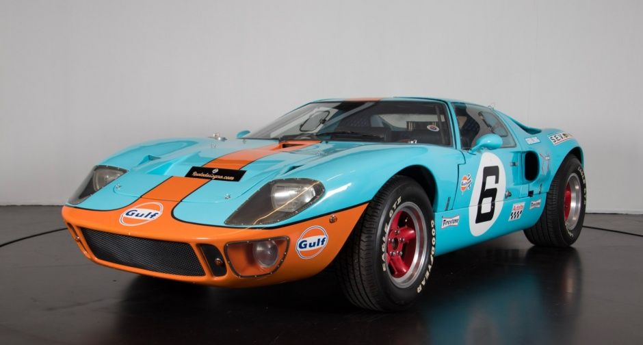 1977 Ford Gt 40 Recreation Ford Gt Ford Gt40 Klassisches Auto