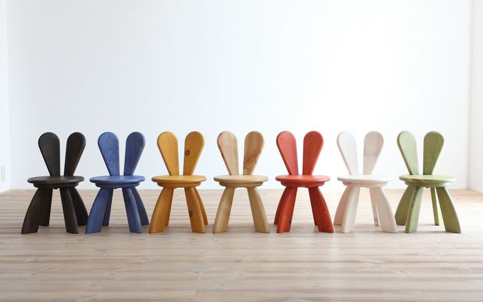 Bunny Chairs... How Cute!! By Designer Yu Watanabe. | Design | Kids |  Pinterest | Bunny, Kids Rooms And Colorful Chairs