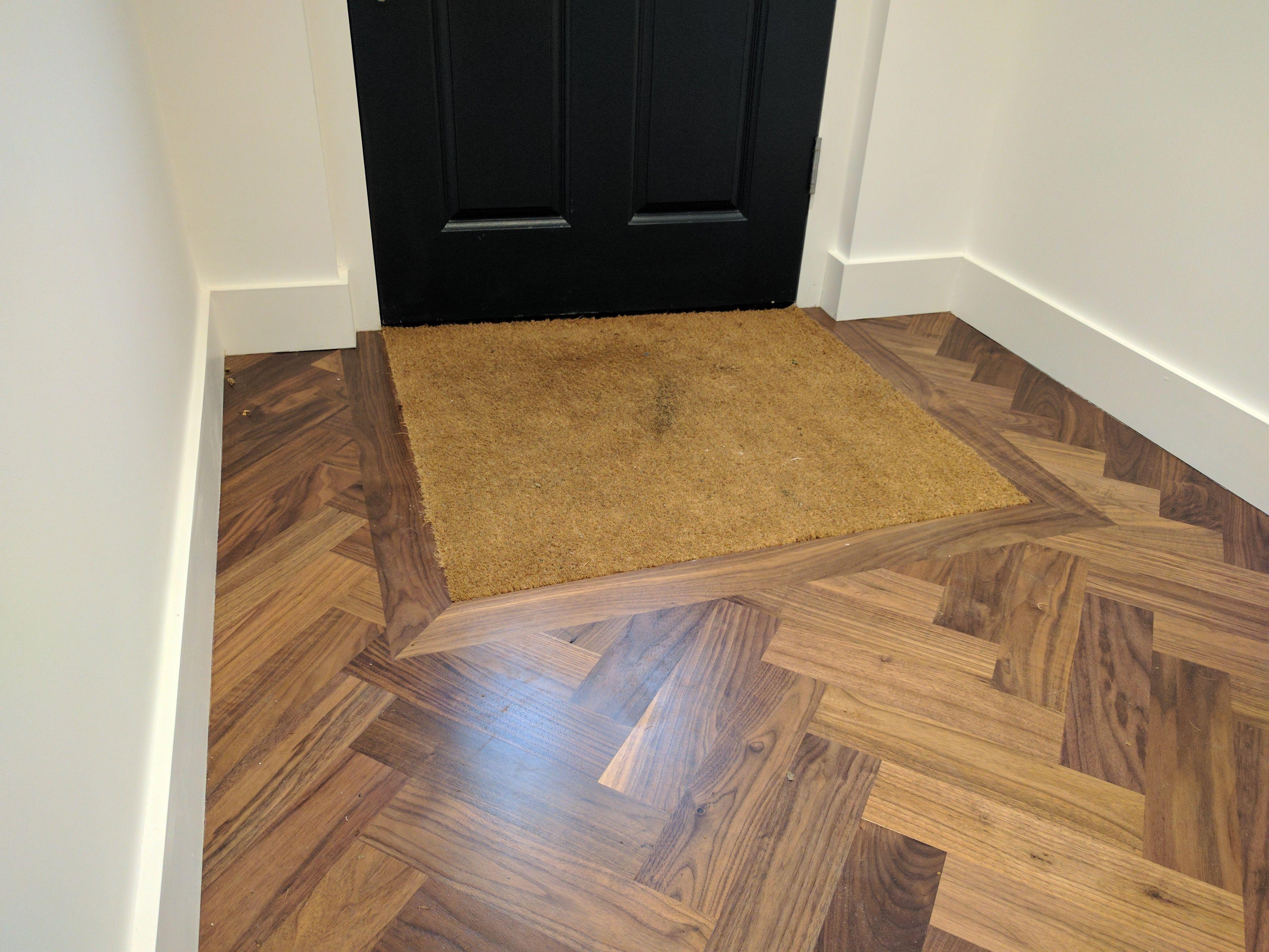 We Integrated A Doormat By The Front Door When Ed