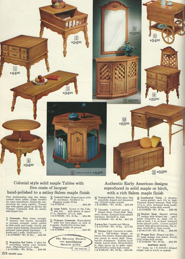 Vintage 1960 Furniture | Vintage Home Decorating: 1960s ...