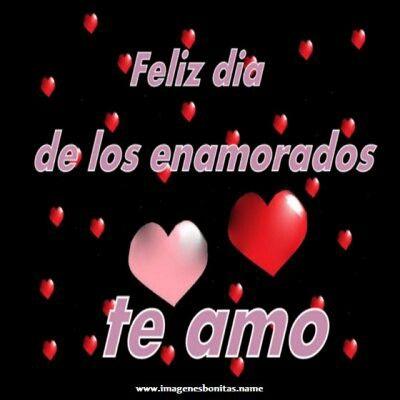 El Dia De Amor Y Amistad Dia De Los Enamorados Dia De Amor Y Amistad Te Amo Feliz Dia