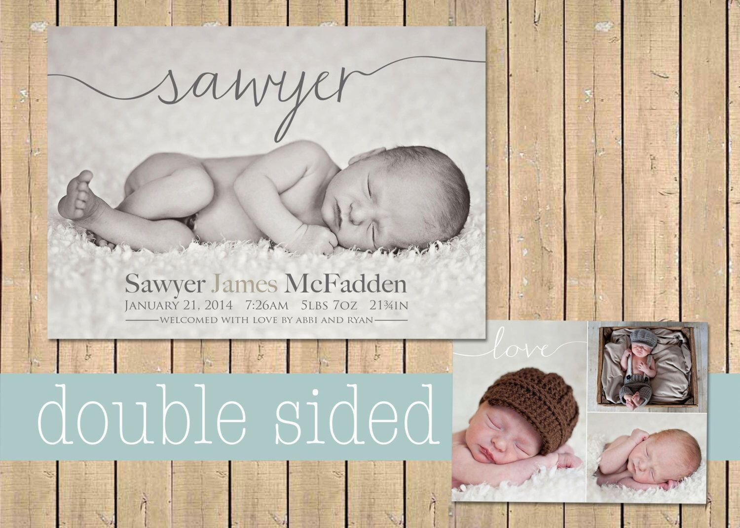 Name BIRTH ANNOUNCEMENT Baby boy announcement Baby girl – Announcement of Baby