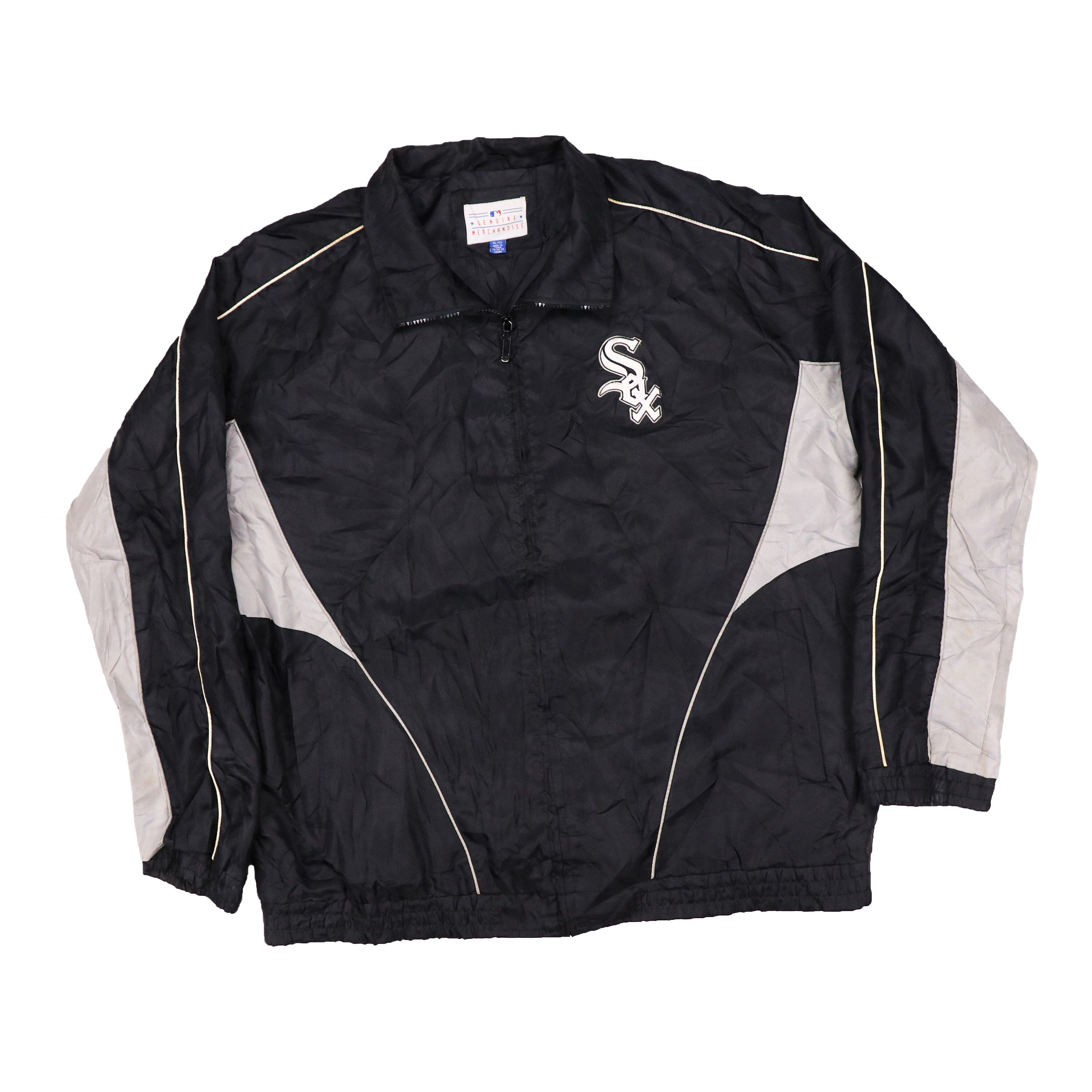 A Personal Favorite From My Etsy Shop Https Www Etsy Com Listing 603898517 Vintage Chicago White Sox Team Jacket Team Jackets Jackets Athletic Jacket [ 3000 x 3000 Pixel ]