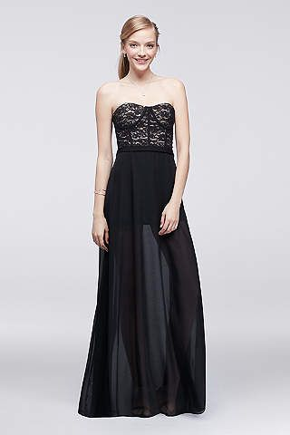 prom dresses  gowns under 150  david's bridal