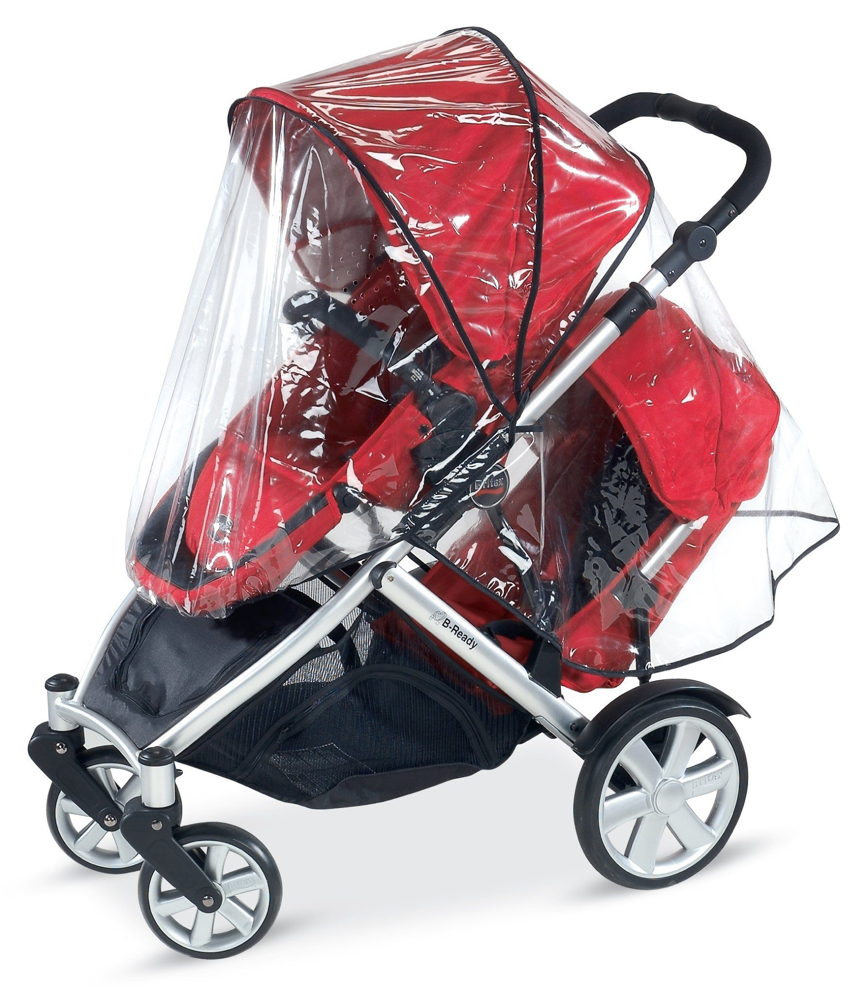 Amazon.com : Britax B-Ready Full Rain Cover : Baby Stroller Weather ...