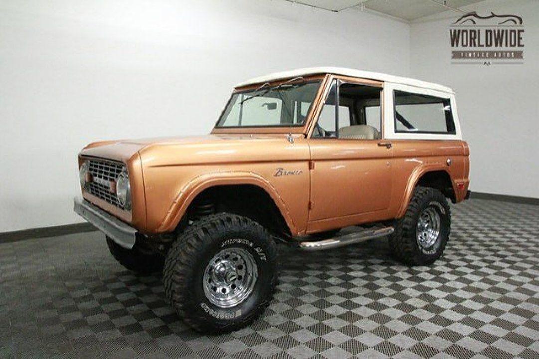 1969 Ford Bronco for sale near Denver, Colorado 80205