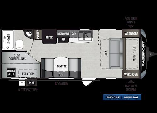 Passport Travel Trailers West Coast Floorplans Keystone Rv Visit Our Website To View Current Floorplans