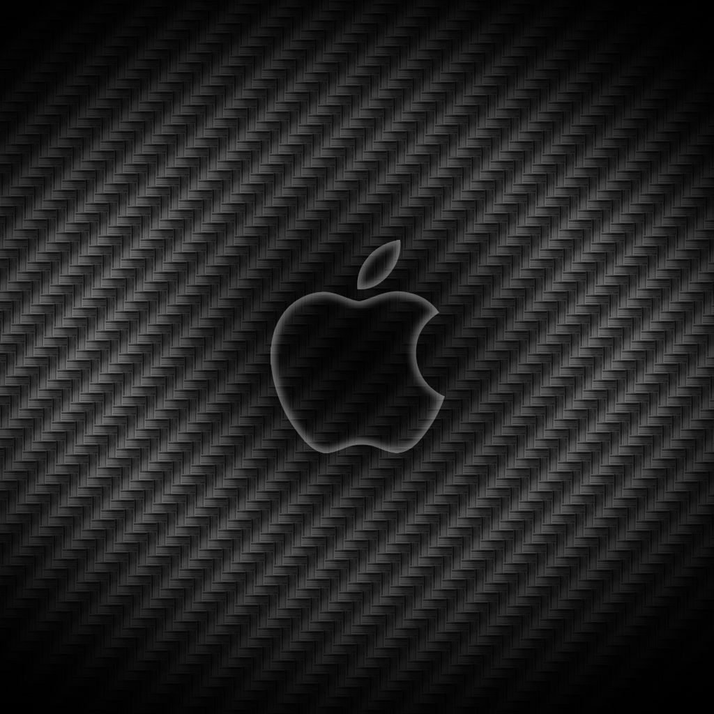 Carbon Fiber Texture Wallpaper Bing Images Apple logo