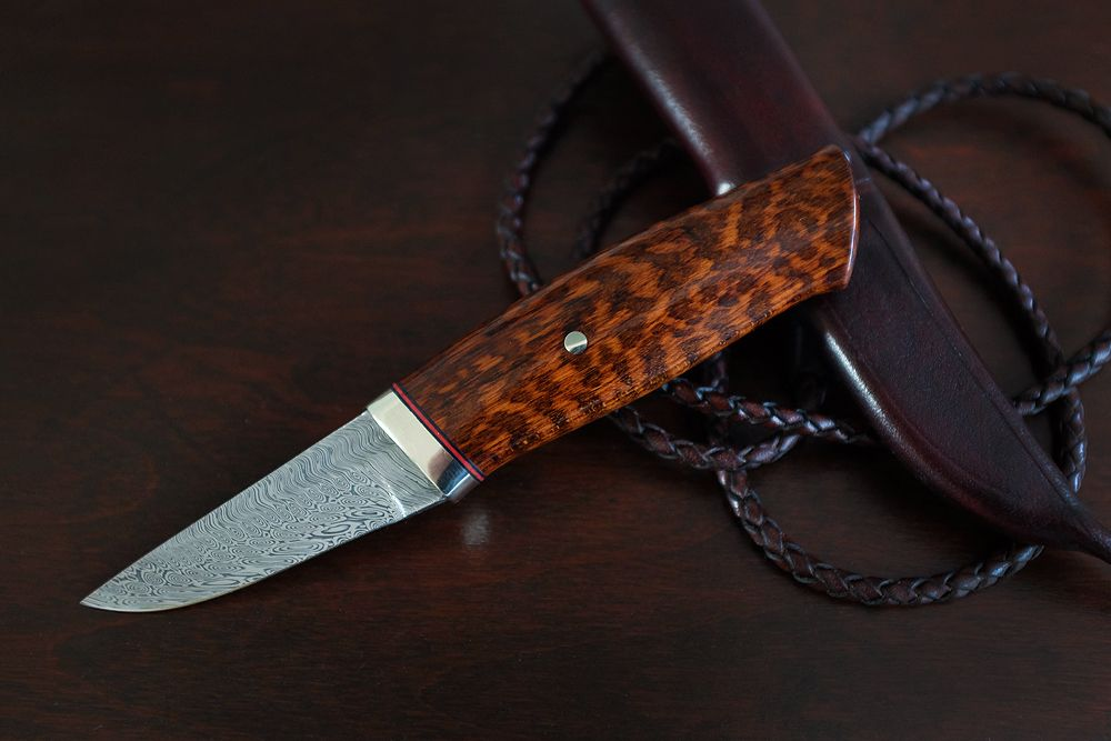 Snakewood Pukko.. - Projects, Works in Progress & KITH - Edge Matters Knife Discussion Forum