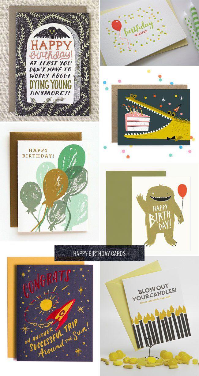 Modern Birthday Card Designs Paper Crave Birthday