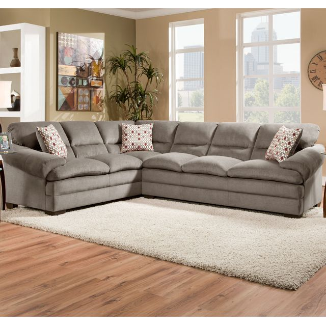 Best Miranda Shale 2Pc Sectional Bernie And Phyls 999 00 Sectional Furniture Sectional Sofa 640 x 480