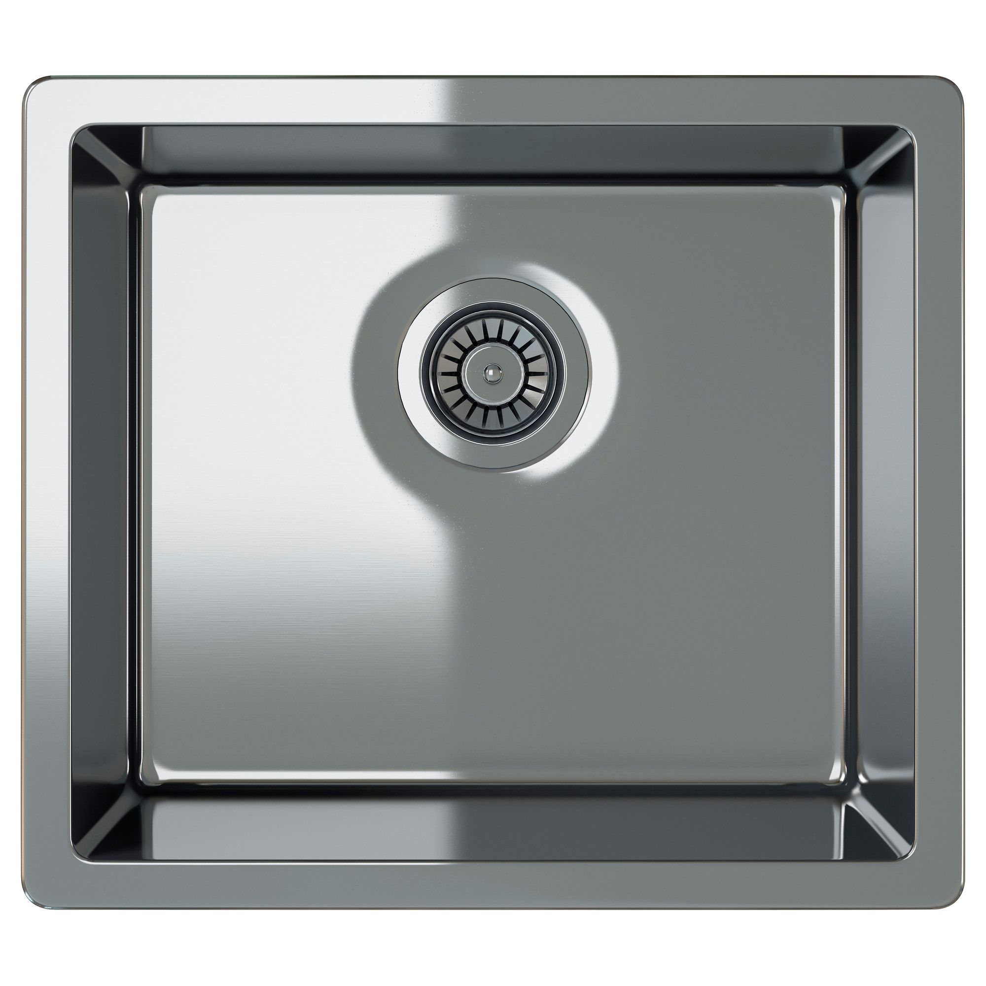 High Quality BREDSKÄR Single Bowl Inset Sink, Stainless Steel IKEA FAMILY Regular Price  $255.99
