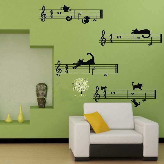 Music Wall Decal Wall Decor Music Bedroom Decor Music Wall