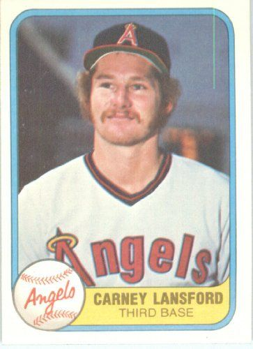 Carney Lansford Athlete My Favorite Angel Havent Been