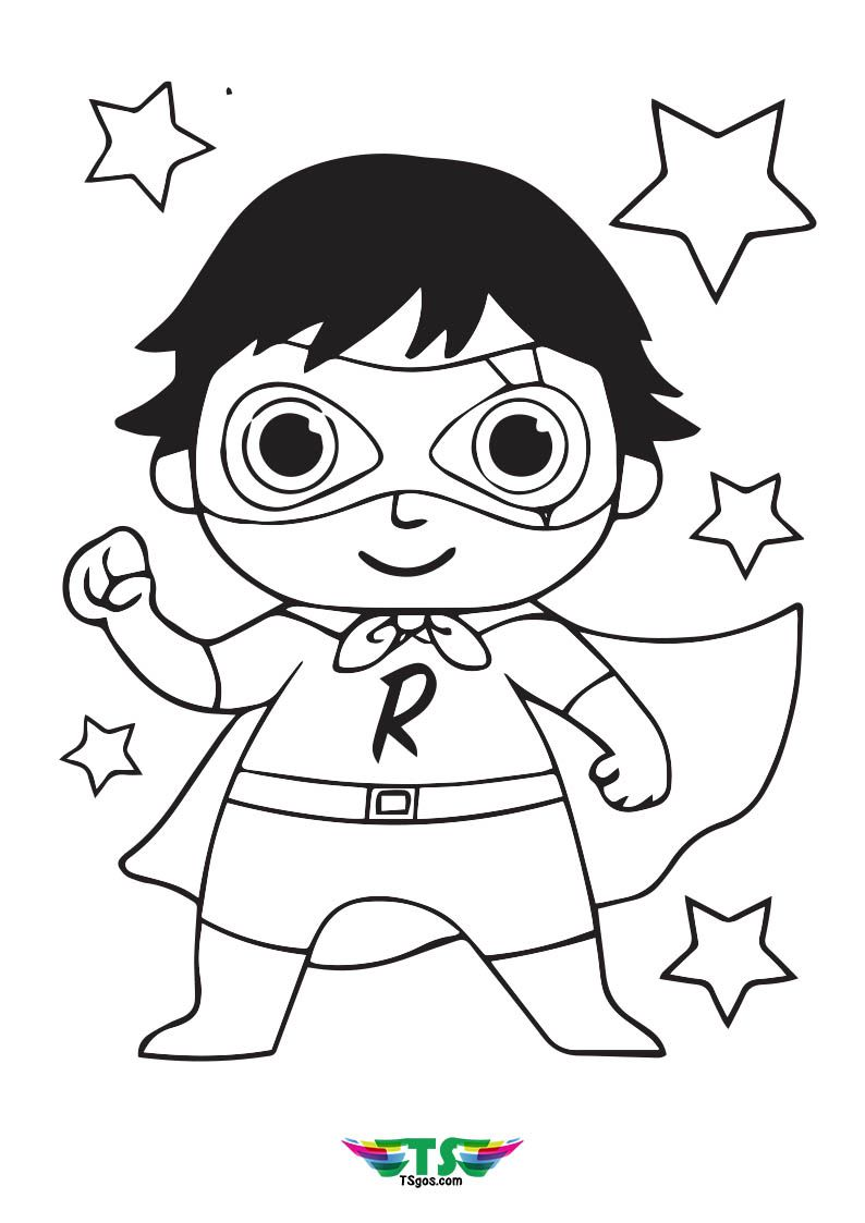 Ryan S World Superhero Coloring Pages Superhero Coloring Pages Superhero Coloring Coloring Pages