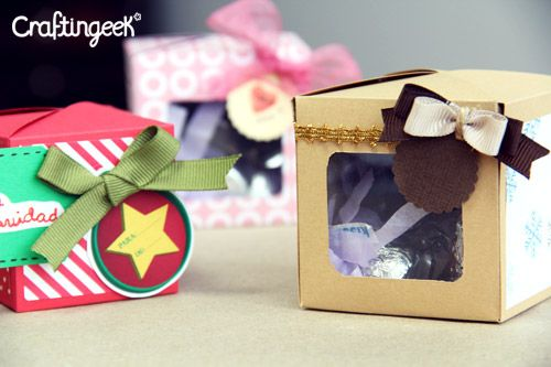 Cubebox Cajita para regalo DIY Cajitas para regalos, Cajas y