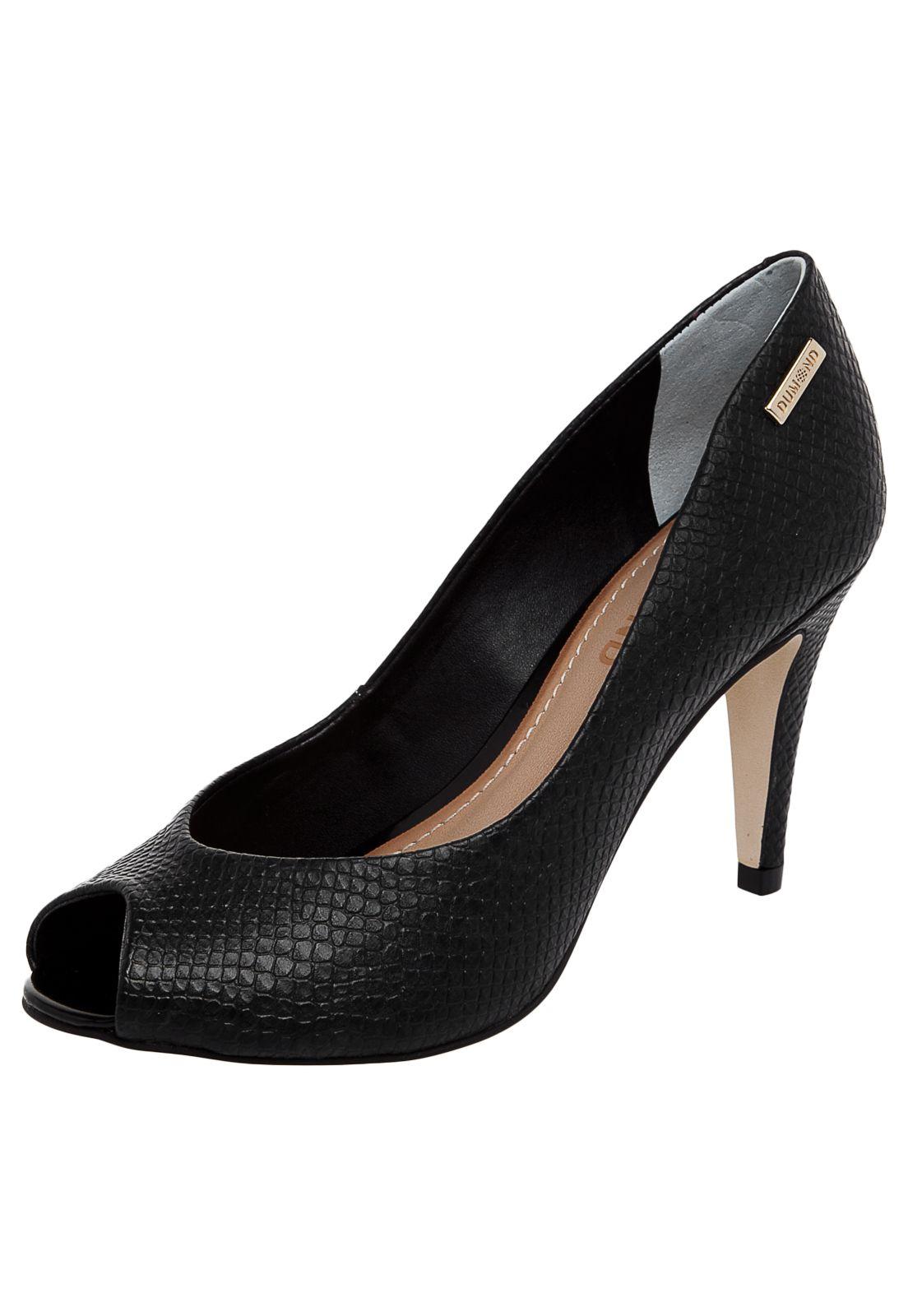 c4fb3f374 Peep Toe Dumond Preto - Compre Agora | Dafiti Brasil Peep Toe, 35, Shoes