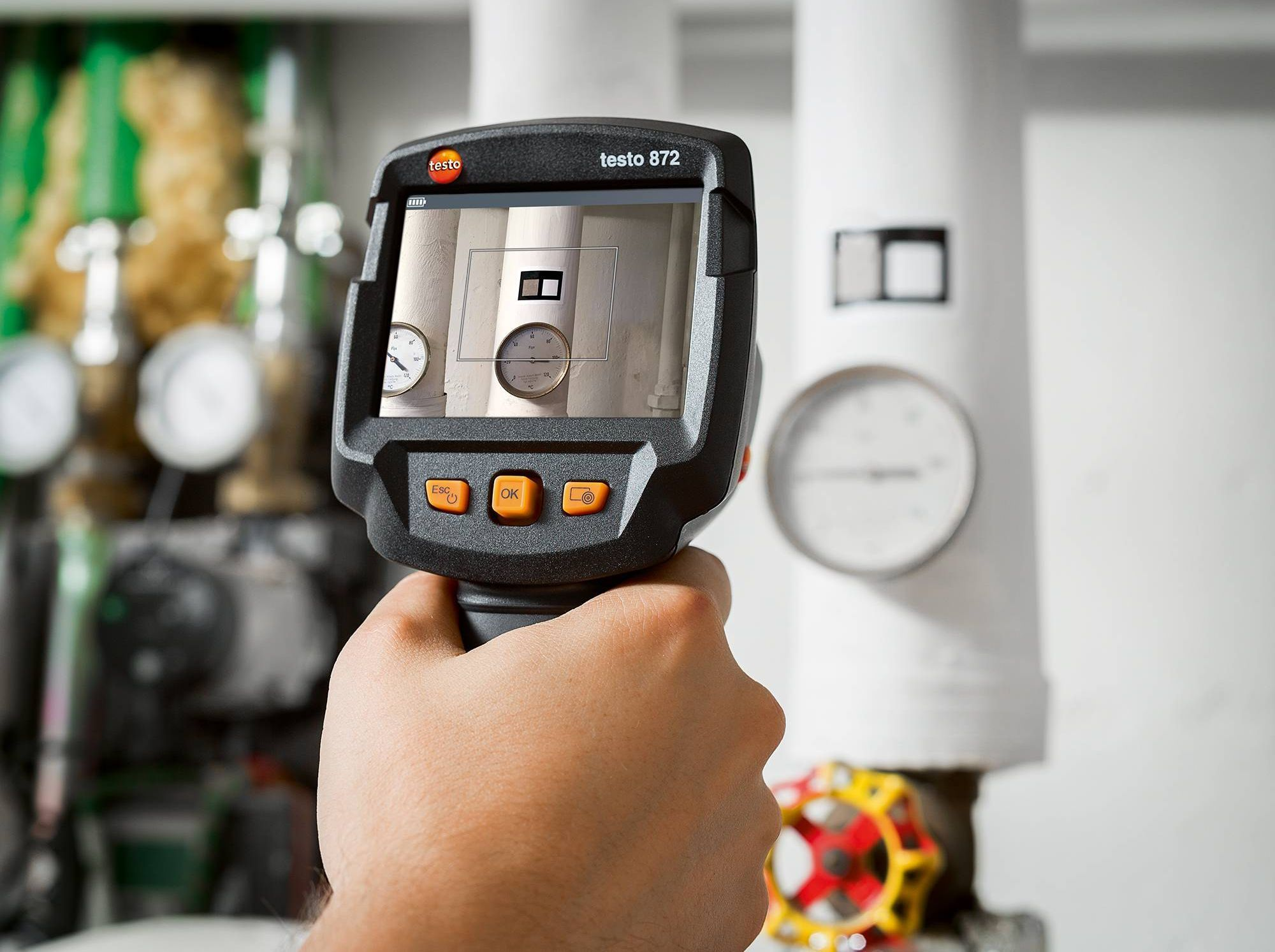 testo 871 Thermal Imaging Camera with App Part No. 0560