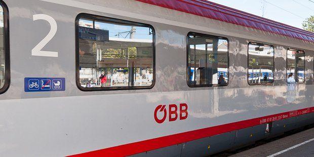 Asylwerber für Tumult in ÖBBZug Zug, Bundesbahn
