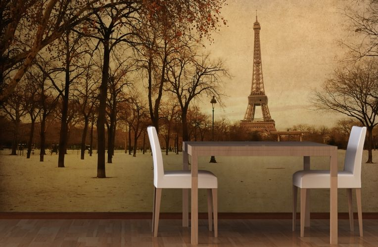 Paris Black And White Wall Mural | White Wallpaper, Wall Murals And  Wallpaper