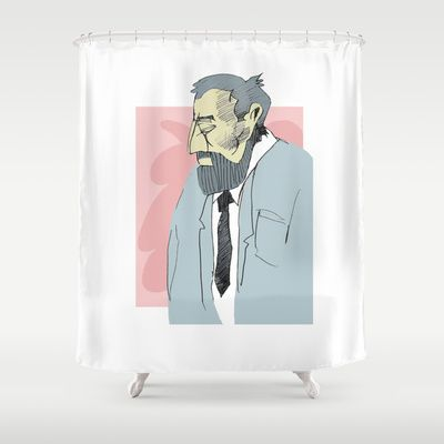 Ettore Shower Curtain by jenapaul - $68.00