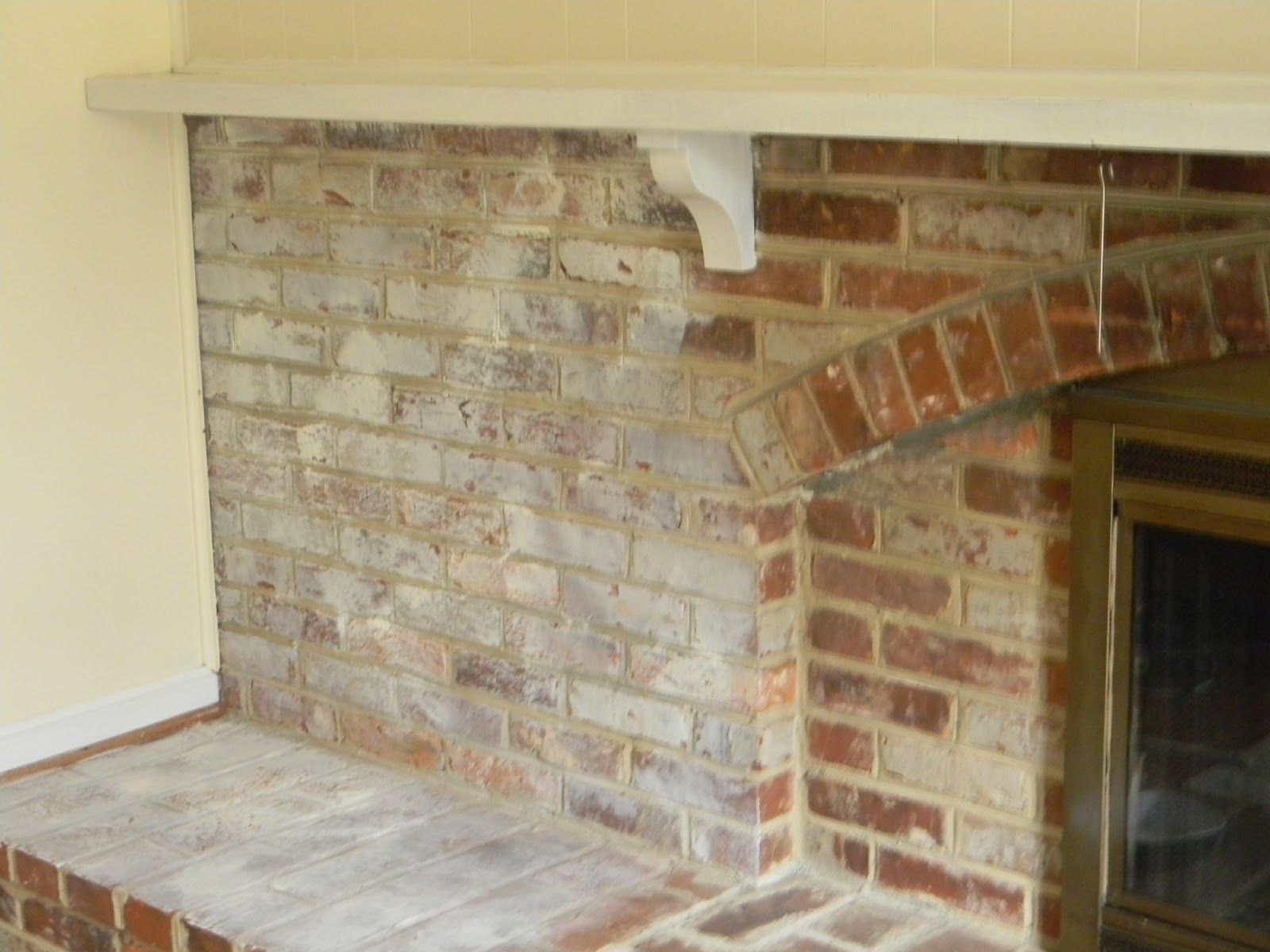 Bricks and Chalk paint