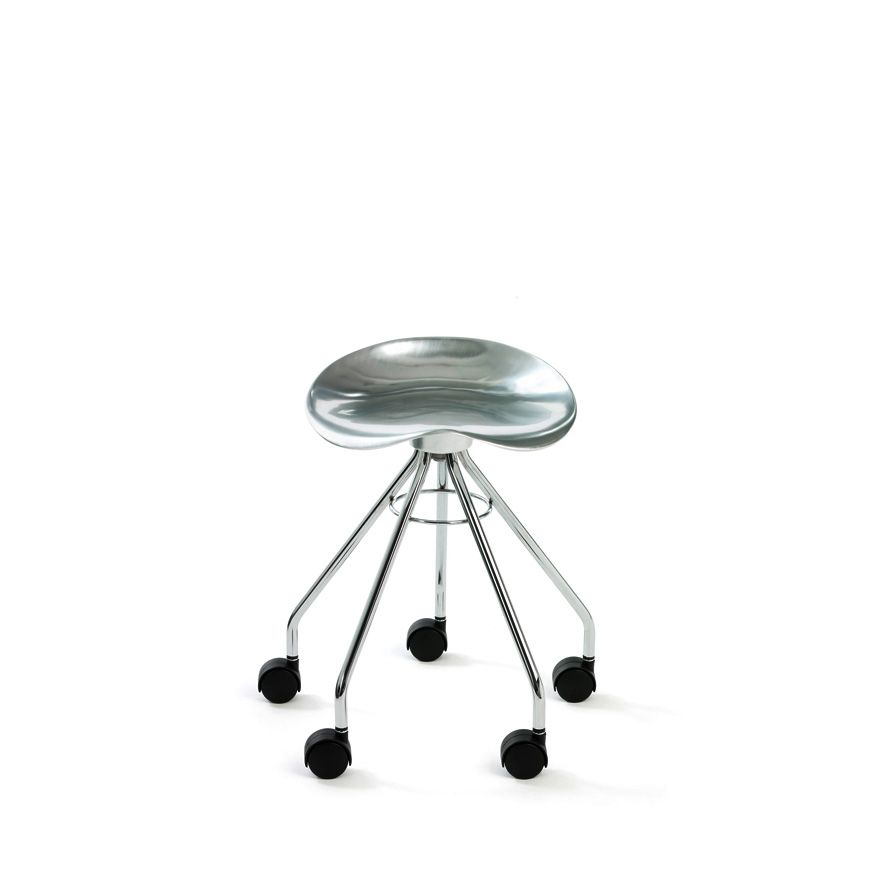 Jamaica Low Stool with Casters by Knoll Via Designresource