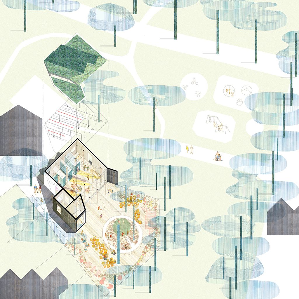 Montpelier community nursery ay architects mo for Disegnare progetti