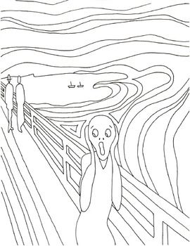 Halloween Alternative Munch S The Scream In 2020 Scream Art