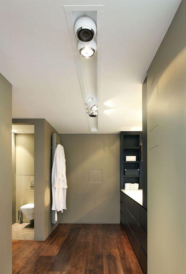Lamparas de techo para cuartos de baño - 50 ideas   Lamparas baño ...