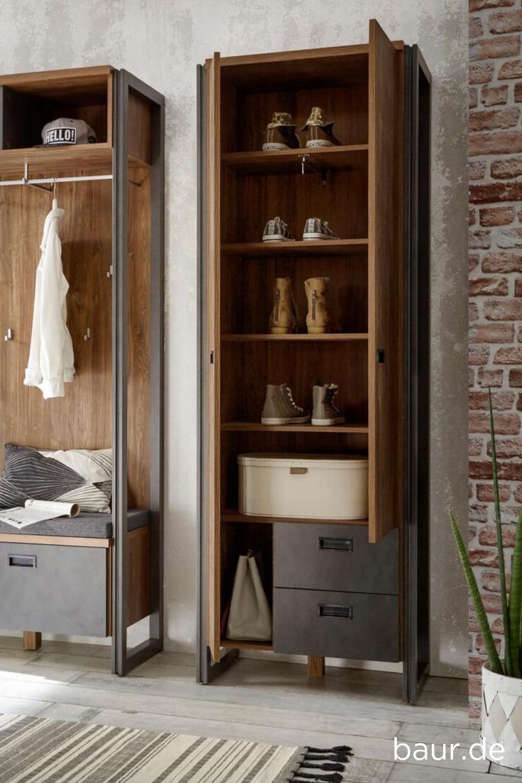 Home Affaire Garderobenschrank Detroit Kaufen Baur Garderobe Schrank Garderobenschrank Wohnaccessoires