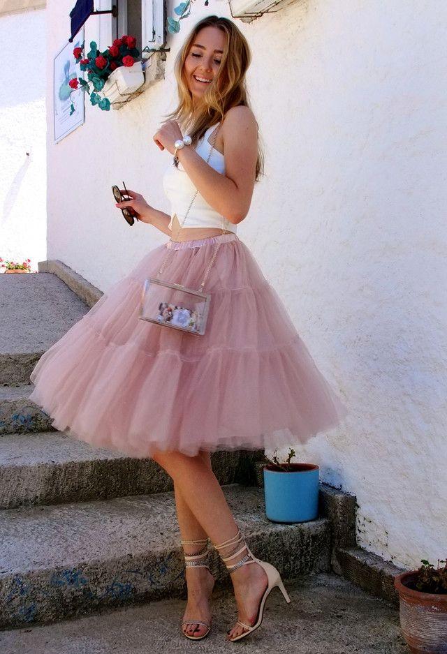 c5557cb4c870f Jessica Buurman   Fun   Fashion, Tulle, Skirt outfits