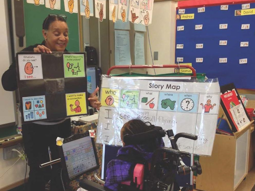 Successful Teacher Uses Team Approach to Foster Learning and Inclusion for Students Using AAC - AAC and Speech Devices from PRC