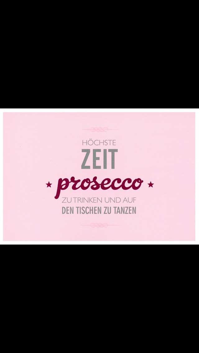 Hochste Zeit Prosecco Zu Trinken Und Auf Den Tischen Zu Tanzen