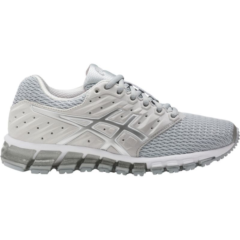 Asics Women S Gel Quantum 180 2 Running Shoes Gray Running