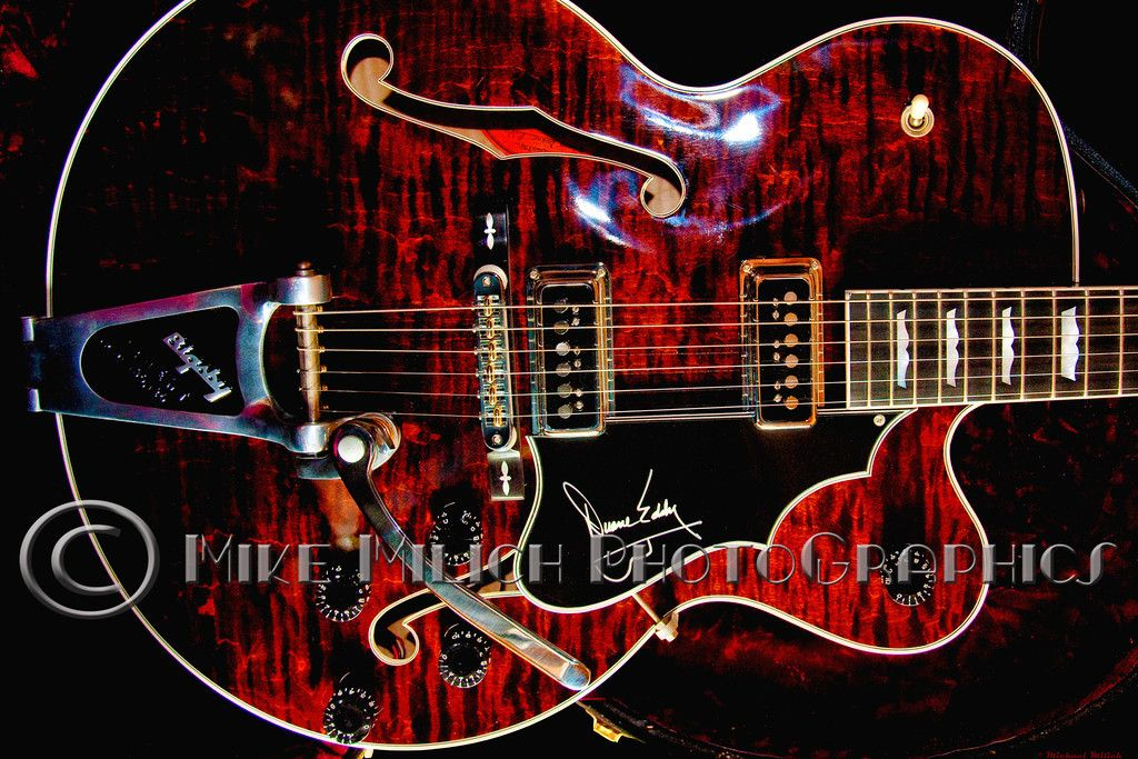 Gibson Duane Eddy Guitar    Serial number 001 Gorgeous guitar almost ready for auction. A beauty!