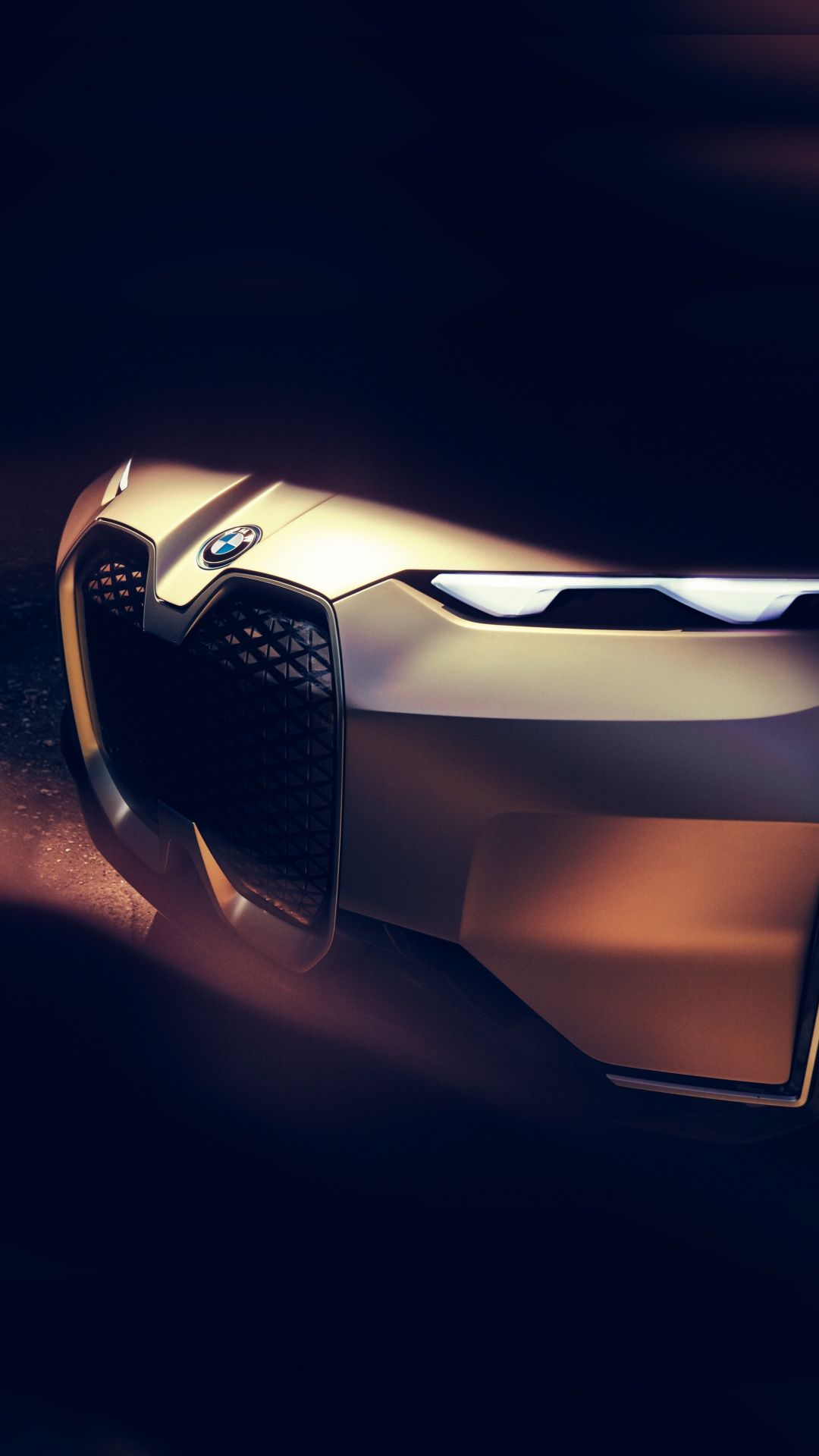 Bmw Vision Next 100 Headlight Electric Car 1080x1920 Wallpaper