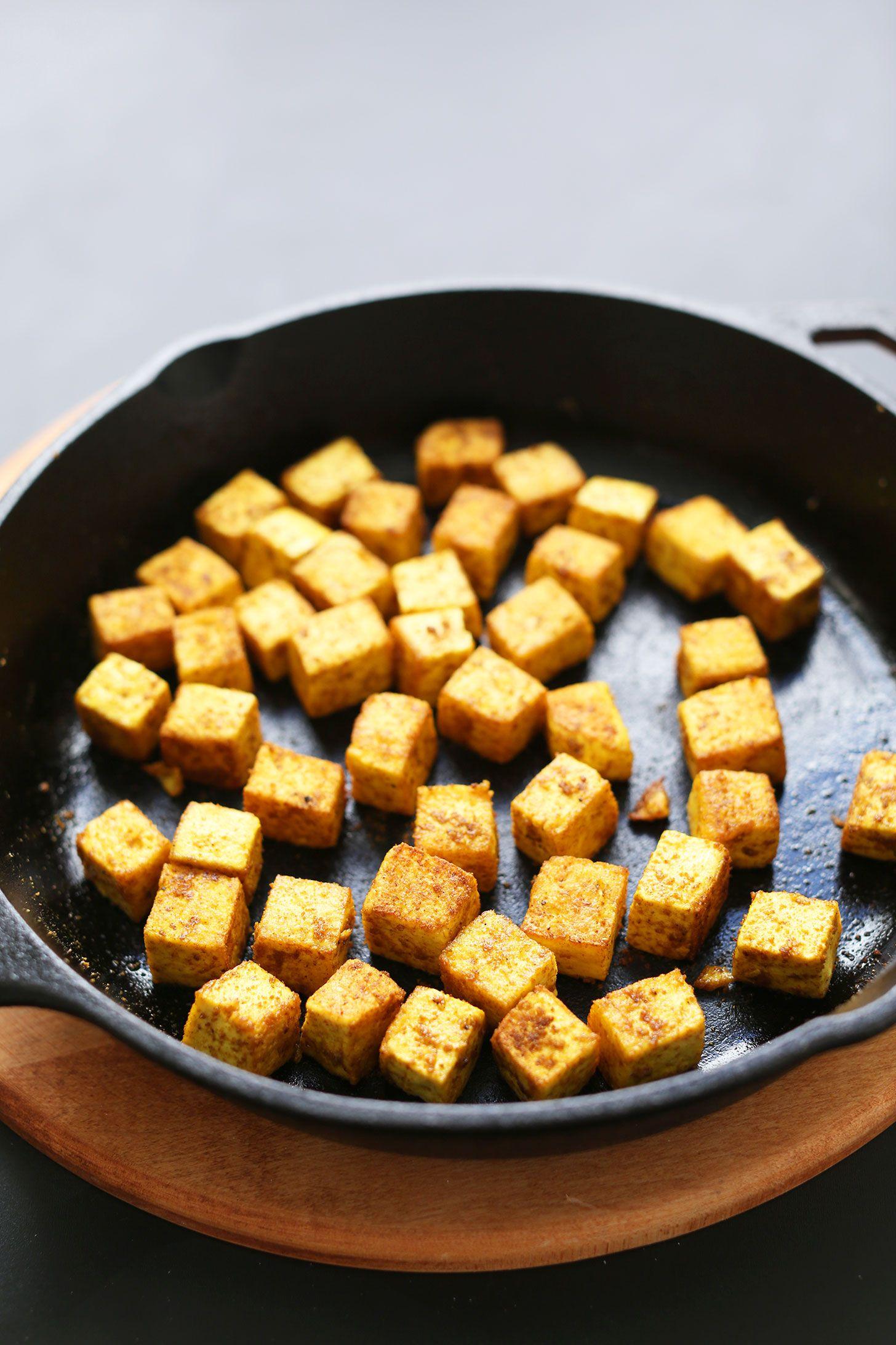 Quick & Easy Crispy Tofu