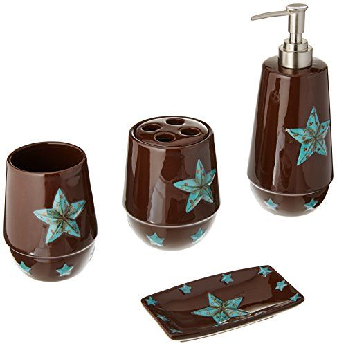 Western Star Bathroom Set Turquoise Bath Accessories Set Lotion Pumps Bathroom Sets