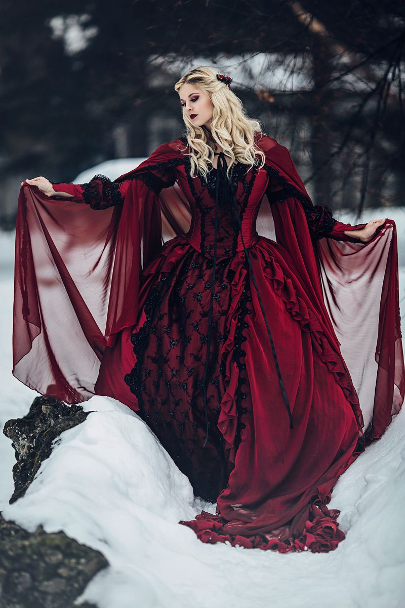 new! gothic sleeping beauty or medieval fantasy gown custom http