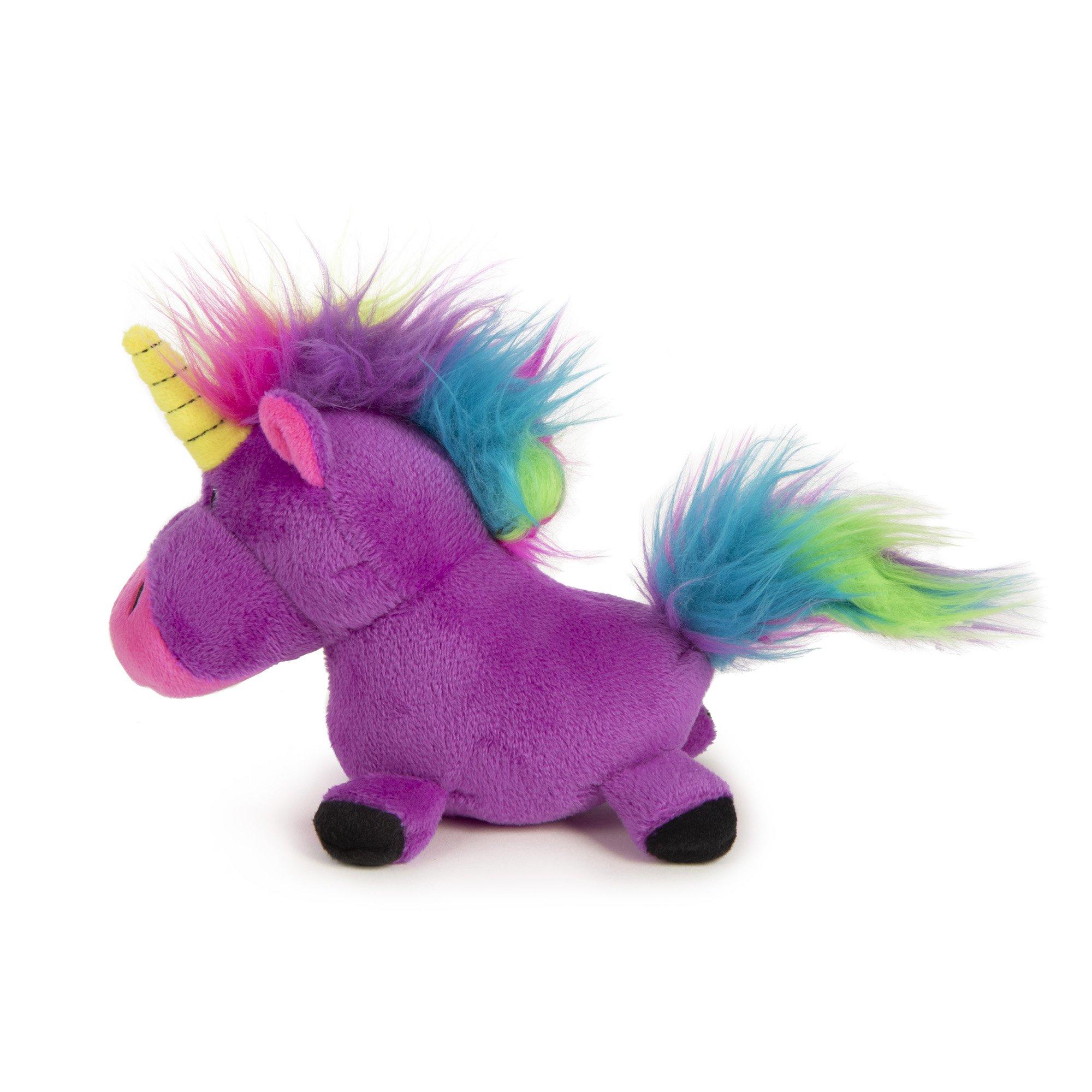 goDog Purple Unicorn Dog Toy, Small Dog toys, Your pet