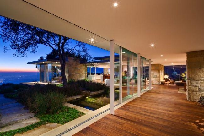 30 maisons modernes avec des grandes baies vitrées | Baie ...