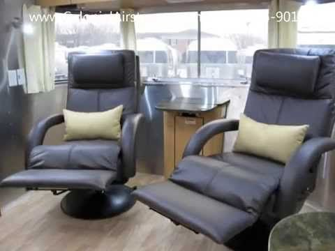 Airstream With Recliners For Sale Flying Cloud Youtube Recliner Dinette Recliner Chair