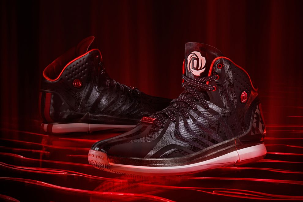 Derrick Rose 4.5 Black Univeristy Red White