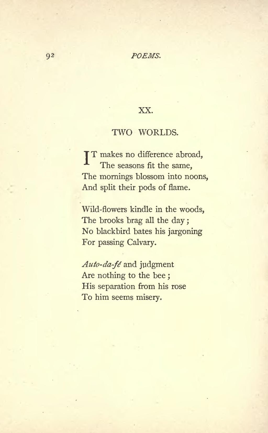 Famous Poems By Emily Dickinson Page Emily Dickinson Poems 1890