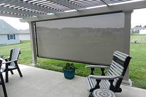 patio shade screen. Patio Shade Screen L