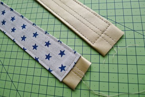 Cómo hacer asas de bolso.