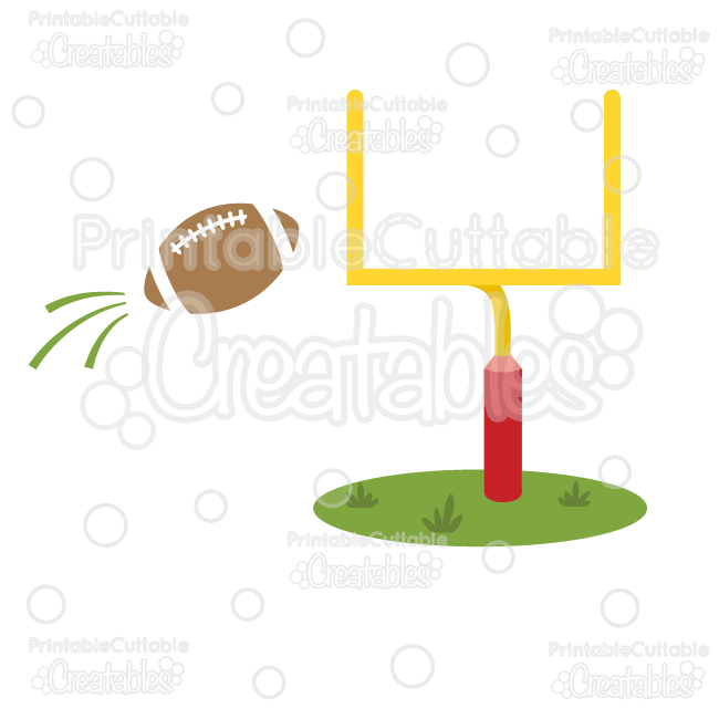 goal post football free svg cut file clipart pinterest svg rh pinterest com football goal post clips Football Field Goal Post