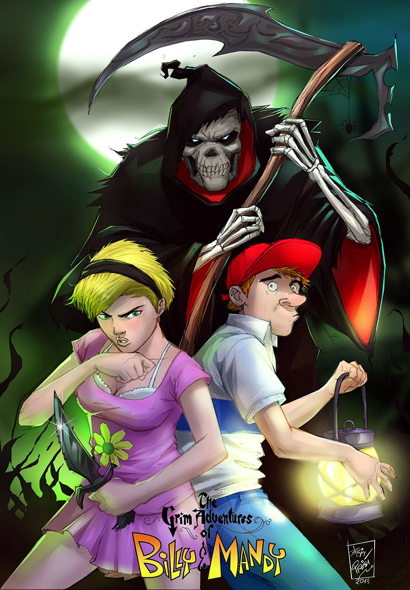 billy and mandy art the grim adventures of billy and mandy by